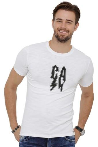 REX STRAUT JEANS -  WhiteT-shirts - Main