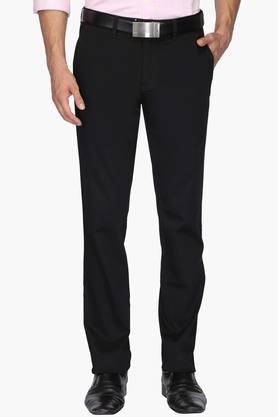LOUIS PHILIPPE SPORTS Mens 4 Pocket Solid Chinos (Steven Tapered Fit)
