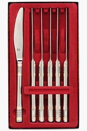 Celebration Embossed Dinner Knives Set of 6