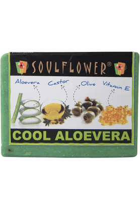 SOULFLOWER Aloevera Soap
