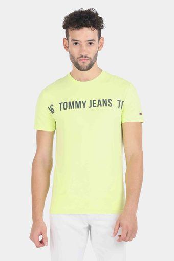 TOMMY HILFIGER -  YellowT-Shirts & Polos - Main