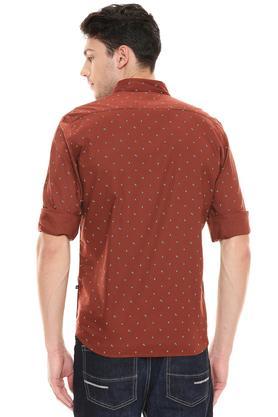 PARX - Dark BrownCasual Shirts - 1