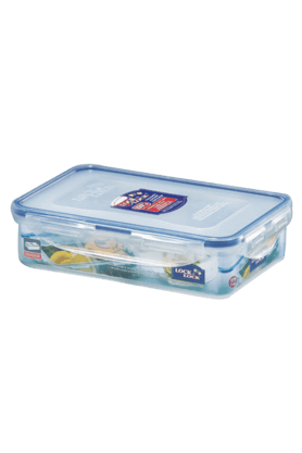 LOCK & LOCK Classics Rectangular Food Container With Divider - 800ml
