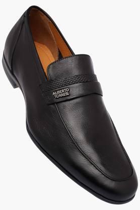 ALBERTO TORRESIMens Leather Slipon Loafers - 202951421