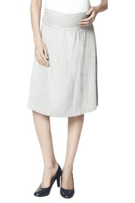 NINE MATERNITY Maternity Skirt With Belly Comforter