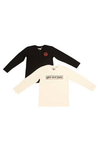GINI & JONY -  WhiteTopwear - Main