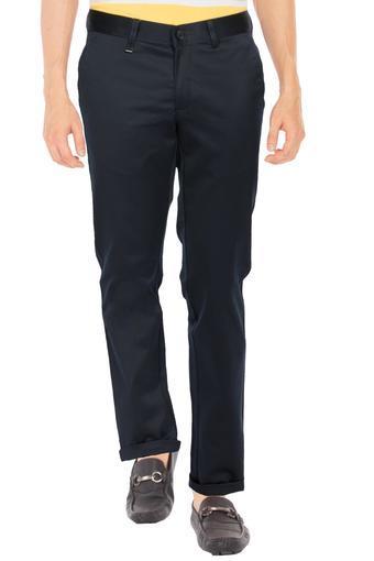 VAN HEUSEN -  Dark BlueFormal Trousers - Main