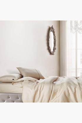 Oxford 100% Cotton Soild Design Oxford Pillow Cover 400 TC - 2 PCs