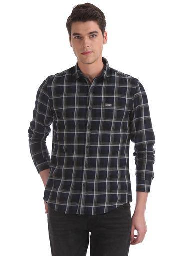 U.S. POLO ASSN. DENIM -  Black Casual Shirts - Main