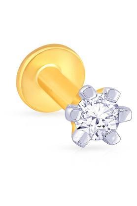 MALABAR GOLD AND DIAMONDSWomens Diamond Nosepin UINSP00097K
