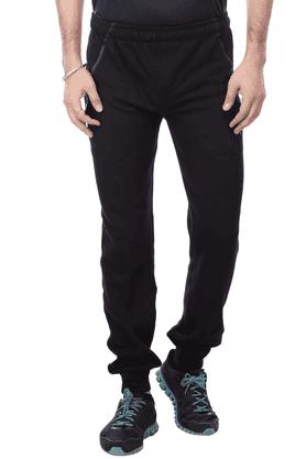 BLACK PANTHERMens 2 Pocket Solid Track Pants