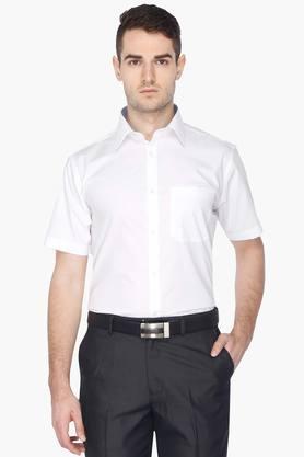 Stop Formal Shirts (Men's) - Mens Short Sleeves Shirt