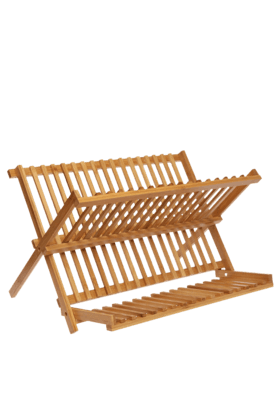 BACK TO EARTH Bamboo Dish Rack