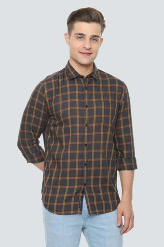 LOUIS PHILIPPE JEANS -  CharcoalCasual Shirts - Main
