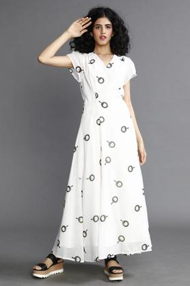 Women Sunny Side Wrap Dress