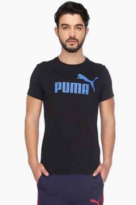PUMA Mens Short Sleeves Round Neck Printed T-Shirt - 201583862