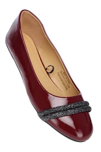 ALLEN SOLLY -  BurgundyCasuals Shoes - Main