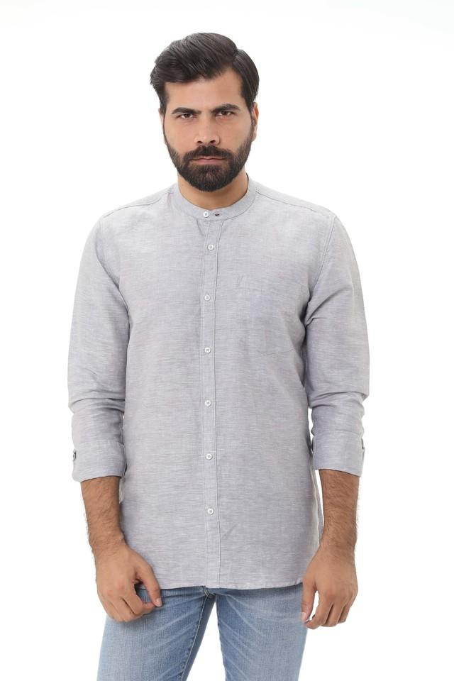LIFE - Grey Casual Shirts - Main