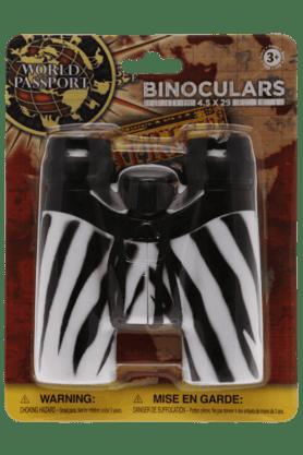 Wild Republic Inflatable Toys - Unisex Zebra Print Binoculars