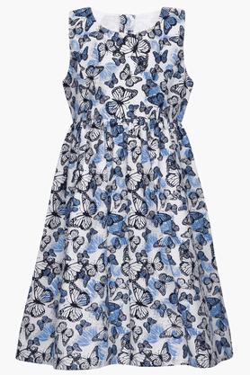 Girls Butterfly-print Dress