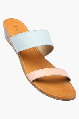 LIFEWomens Daily Wear Slipon Wedge Sandal - 201088361