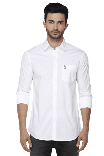 U.S. POLO ASSN. -  White Shirts - Main