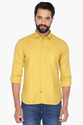 Numero Uno Formal Shirts (Men's) - Mens Full Sleeves Casual Solid Shirt