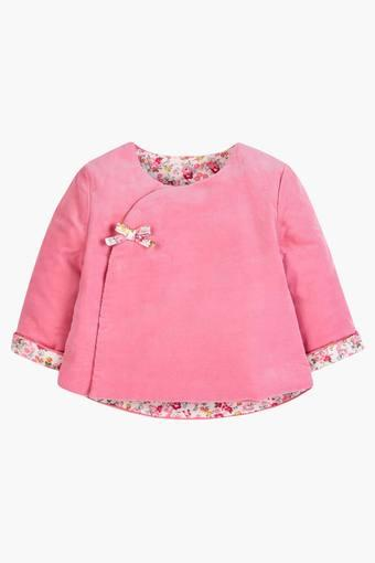 Infants Woollen Solid Sweater