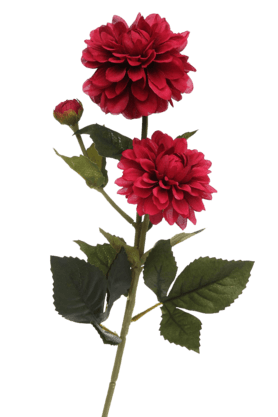 IVY Zinnia Flower Artficial Spray