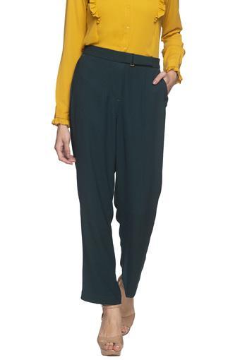 VAN HEUSEN -  GreenTrousers & Pants - Main