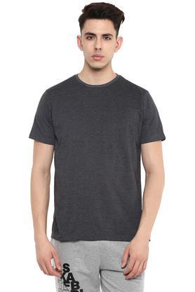 STOP - Blue MelangeT-Shirts & Polos - 12