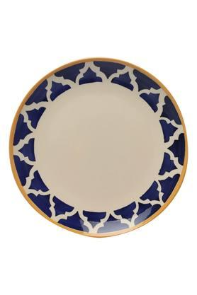 Round Printed Moroccan Dinner Plate