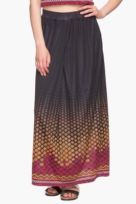 IMARAWomens Printed Long Skirt
