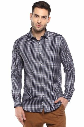 Buy RAYMOND Mens Checked Casual Shirt   Shoppers Stop