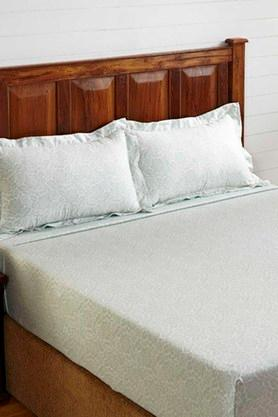 STOA PARIS300 TC King Size Bedsheet Set (Bedsheet Set (King)