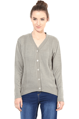 THE VANCA Women Woollen Sweater - 200344409