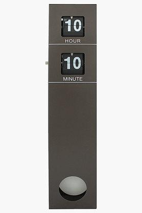 SPREAD Long Pendulum Flip Black Digital Clock