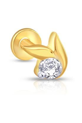 MALABAR GOLD AND DIAMONDSWomens Mine Diamond Nosepin NP51168