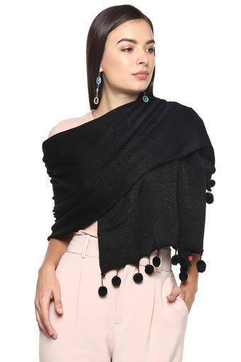 BIBA -  BlackScarves & Socks - Main