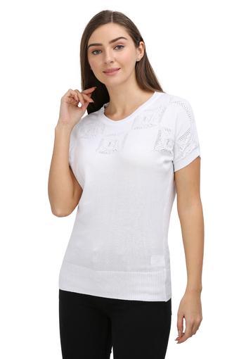 FRATINI -  WhiteSweatshirts - Main