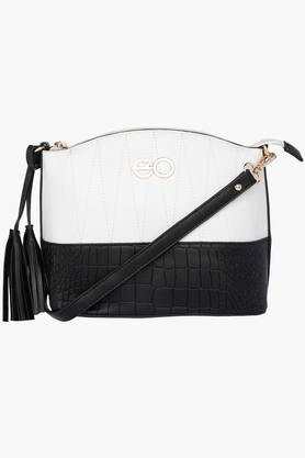 E2O Womens Zipper Closure Sling Bag - 202220795