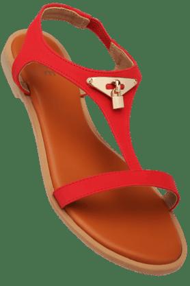 LIFEWomens Daily Wear Slipon Flat Sandal