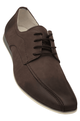 TRESMODE Mens Leather Lace Up Casual Shoe