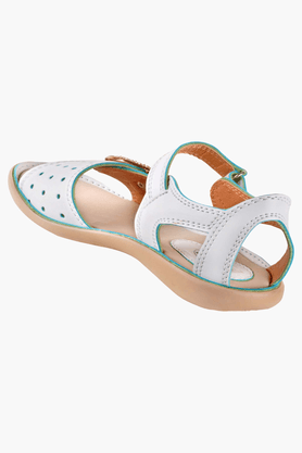 Girls Velcro Closure Casual Sandal