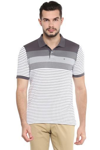 LOUIS PHILIPPE -  Dark GreyT-shirts - Main