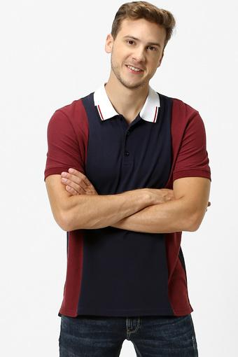 CELIO -  Burgundy T-shirts - Main