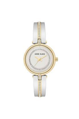 Womens Silver Dial Metallic Analogue Watch - AK3249SVTT
