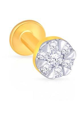 MALABAR GOLD AND DIAMONDSWomens Diamond Nosepin UINSP00166A