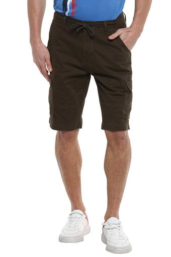 LIFE -  Olive Shorts & 3/4th - Main