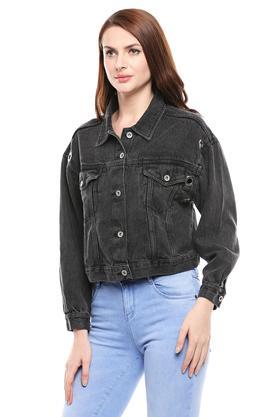 Womens Washed Jacket